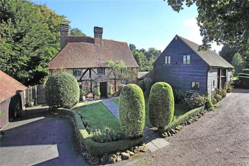 6 Bedrooms Detached House for sale in Kent Hatch Road, Limpsfield Chart, Surrey, RH8