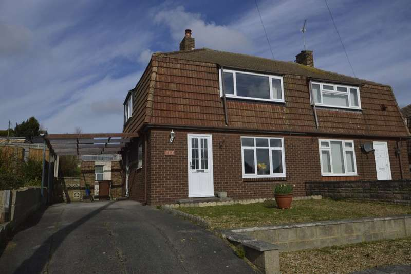2 Bedrooms Semi Detached House for sale in Knights Road, Hoo, Rochester, ME3