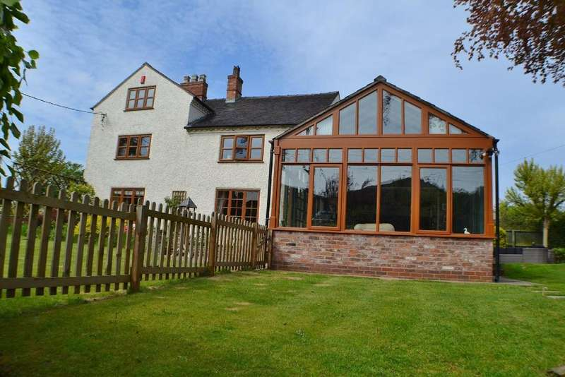 4 Bedrooms Detached House for sale in Hemmingshaw Lane, Arclid