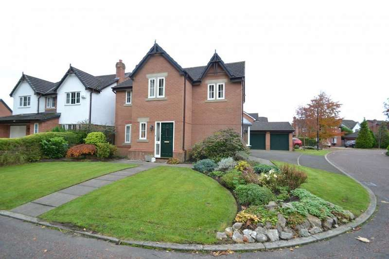 4 Bedrooms Detached House for sale in Westminster Close, Sale
