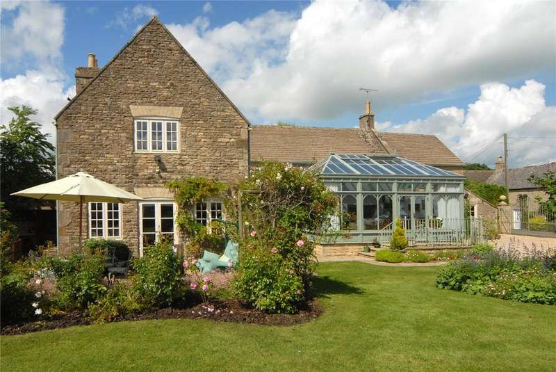 4 Bedrooms Detached House for sale in 12 Chapel Lane, Cold Aston, Cheltenham, Gloucestershire, GL54