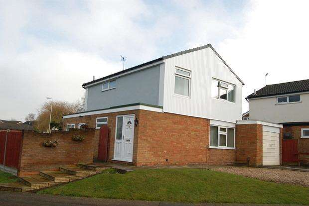 4 Bedrooms Detached House for sale in Barnstaple Close, Little Hill, Wigston, Leicester, LE18