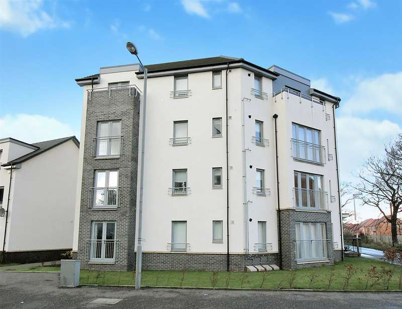 2 Bedrooms Flat for sale in Crookston Court,Kinnaird Village, Larbert