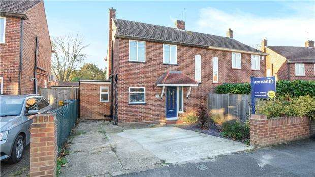 4 Bedrooms Semi Detached House for sale in Peel Close, Windsor, Berkshire
