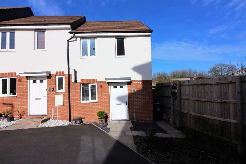 2 Bedrooms Town House for sale in Lakelot Close, Willenhall