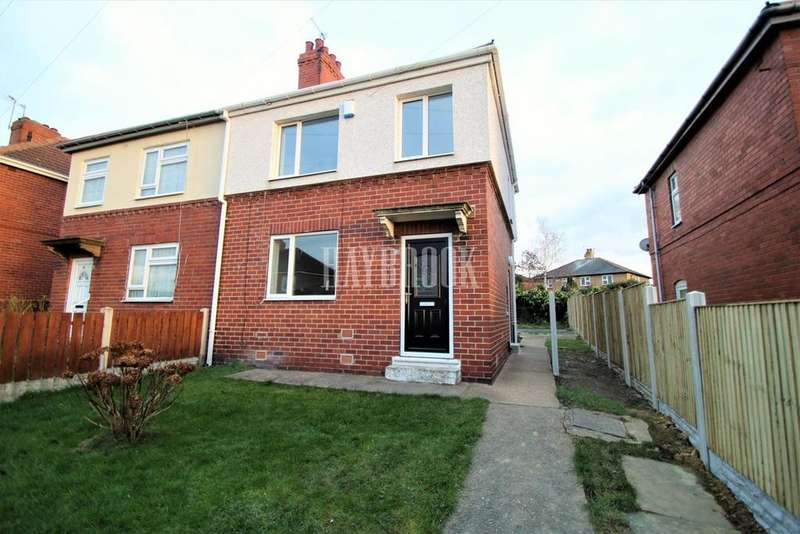 3 Bedrooms Semi Detached House for sale in Low Grange Road, Thurnscoe