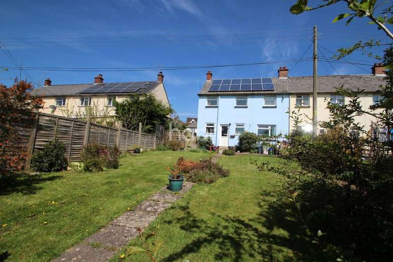 3 Bedrooms End Of Terrace House for sale in Lapford, Crediton