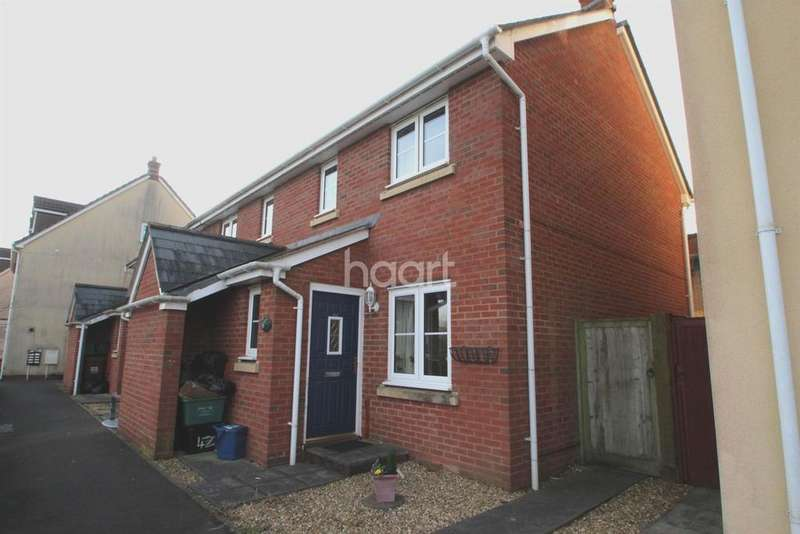 2 Bedrooms Terraced House for sale in Tiverton