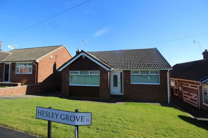 2 Bedrooms Detached Bungalow for sale in Hesley Grove, Chapeltown, Sheffield, S35