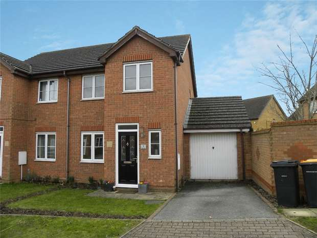 3 Bedrooms Semi Detached House for sale in Tolkien Close, Bedford