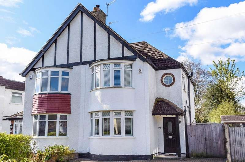 3 Bedrooms Semi Detached House for sale in Queensway West Wickham BR4