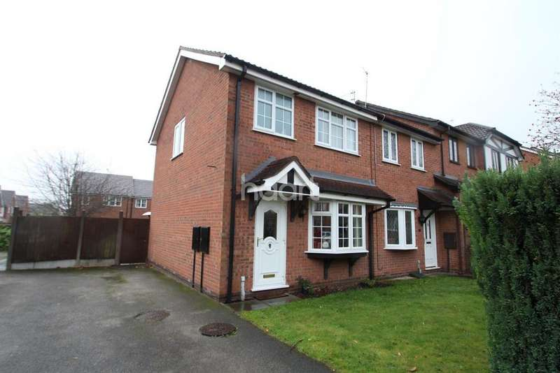 3 Bedrooms Semi Detached House for sale in Bridge Court, Hucknall