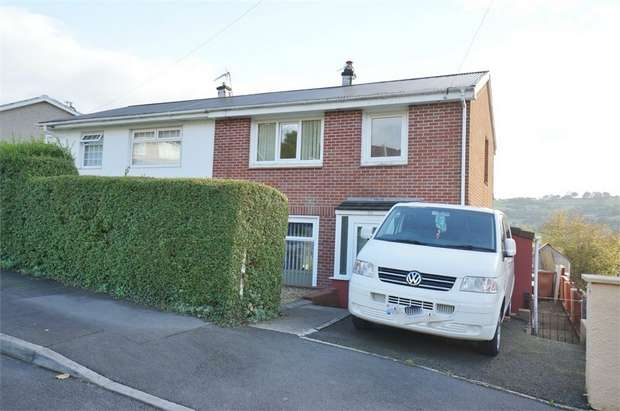 3 Bedrooms Semi Detached House for sale in Woodview Road, Risca, NEWPORT, Caerphilly