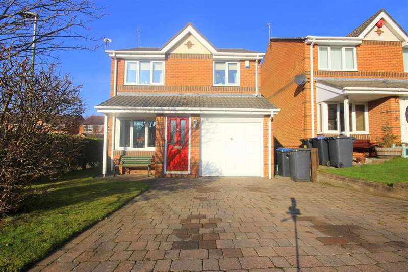 3 Bedrooms Detached House for sale in Coldingham Court, Sacriston, Durham