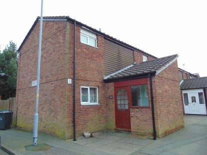 4 Bedrooms End Of Terrace House for sale in Cabul Close, Warrington, Cheshire, WA2
