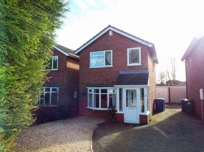 3 Bedrooms Detached House for sale in Wallace Close, Norton Close, Cannock