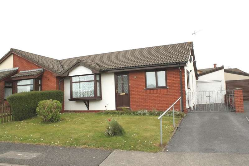 2 Bedrooms Semi Detached Bungalow for sale in Langer Way, Clydach, Swansea