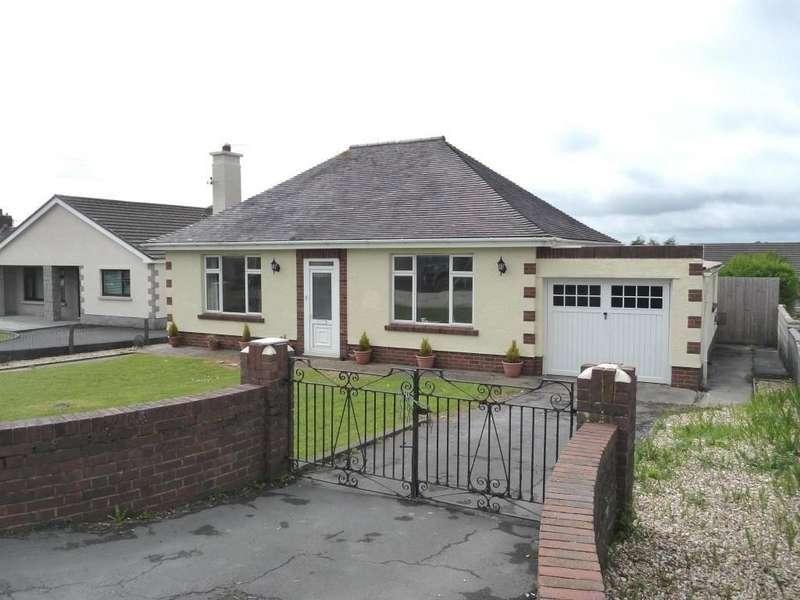 3 Bedrooms Detached Bungalow for sale in Crosshands Road, Gorslas, Gorslas