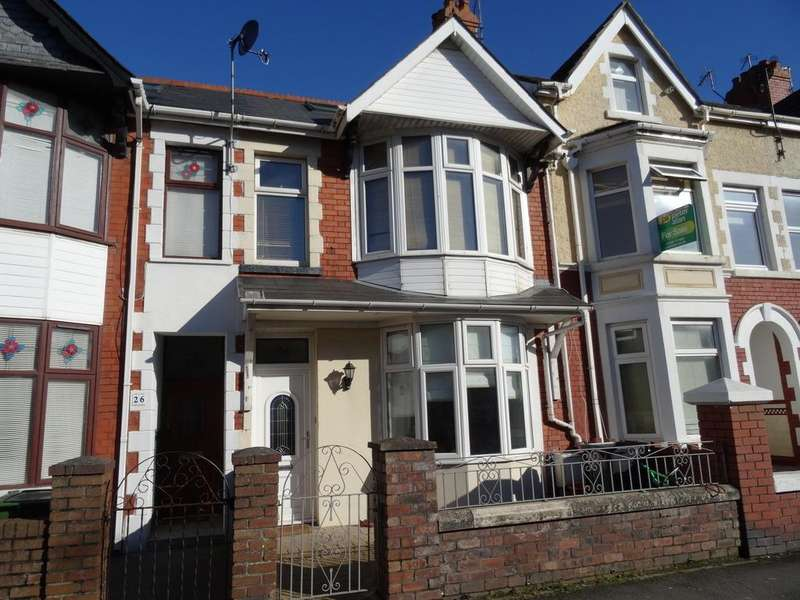 3 Bedrooms Terraced House for sale in SUFFOLK PLACE, PORTHCAWL, CF36 3EA