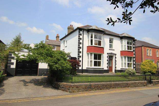 5 Bedrooms Semi Detached House for sale in The Parade, Carmarthen, Carmarthenshire