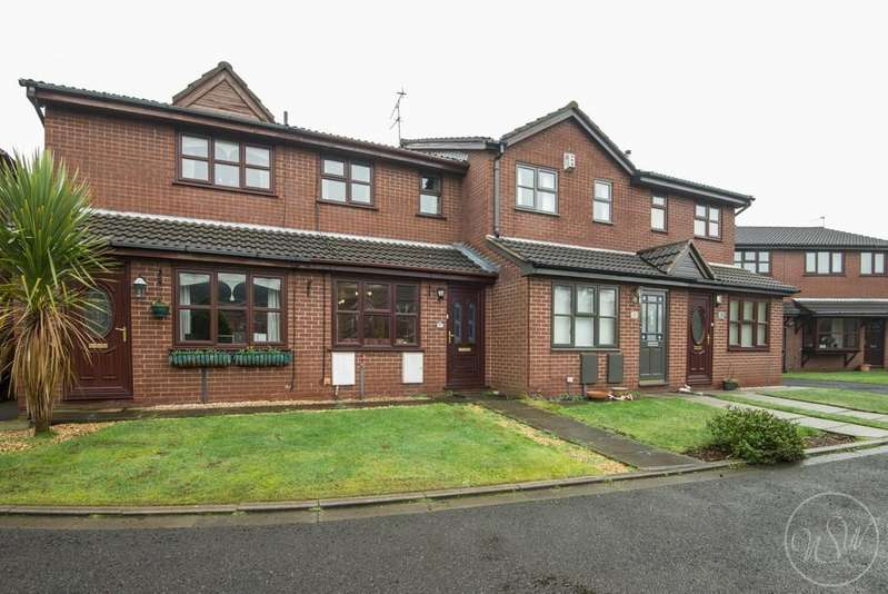 2 Bedrooms Terraced House for sale in Sanfield Close, Ormskirk