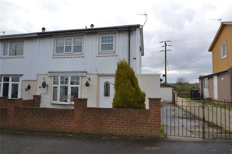 3 Bedrooms Semi Detached House for sale in Oak Road, Easington Colliery, Co Durham, SR8