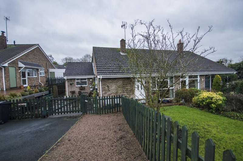 3 Bedrooms Semi Detached Bungalow for sale in Arley View Close, Highley, Bridgnorth