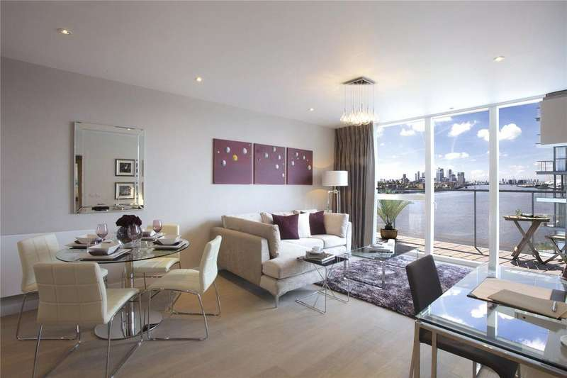 2 Bedrooms Flat for sale in Banning Street, London, SE10