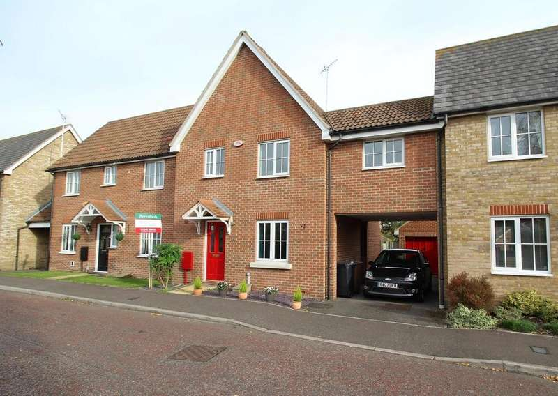 3 Bedrooms Terraced House for sale in Sheldrick Link, Springfield, Chelmsford, Essex, CM2