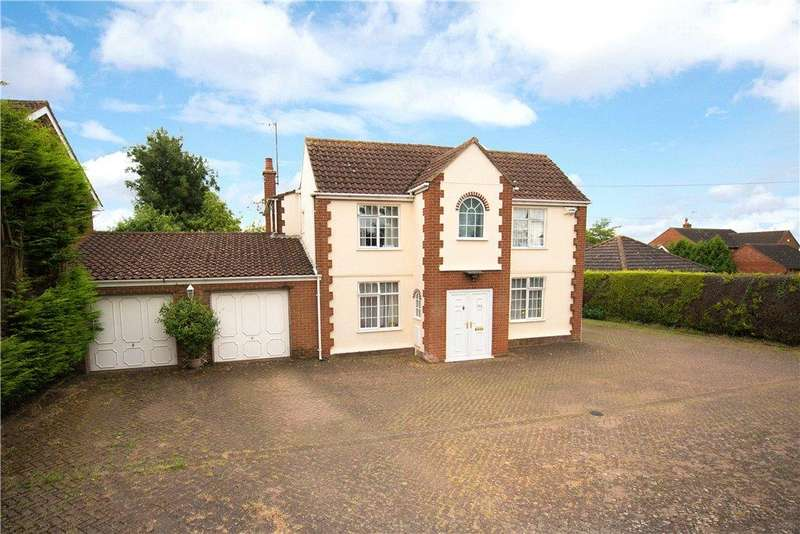 4 Bedrooms Detached House for sale in Newton Road, Rushden, Northamptonshire
