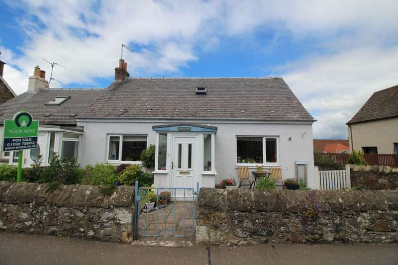 4 Bedrooms Semi Detached House for sale in Rosehaven East End, Freuchie, Cupar, KY15