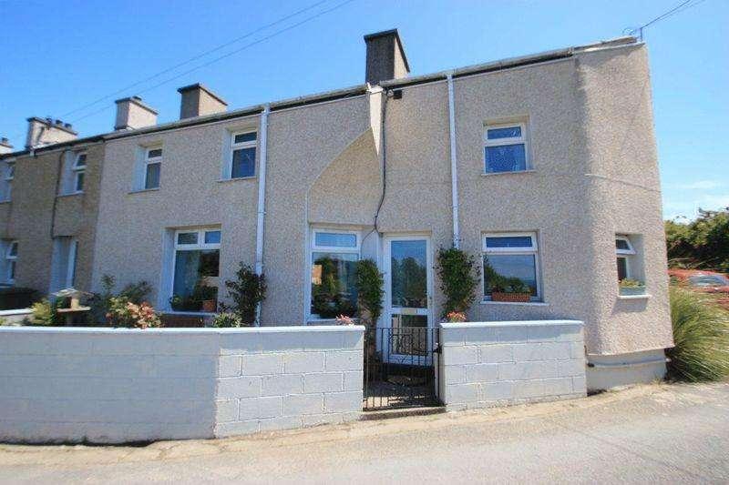 3 Bedrooms Terraced House for sale in Nebo, Gwynedd