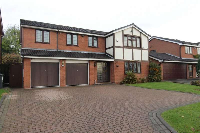 4 Bedrooms Detached House for sale in Blackwood Road, Dosthill