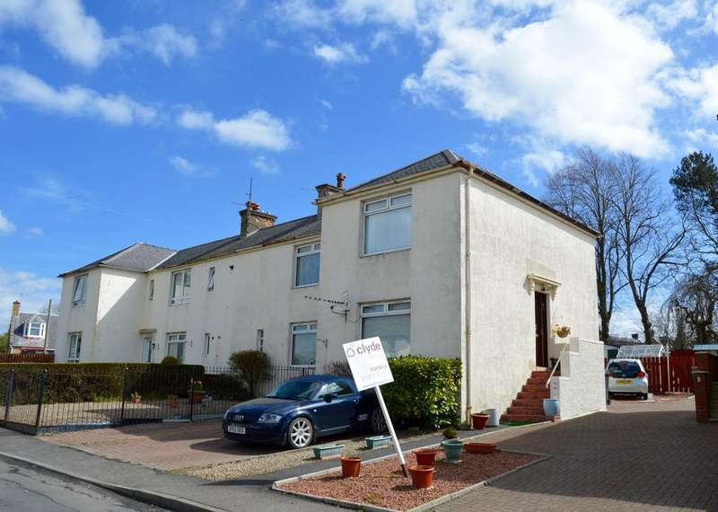 2 Bedrooms Flat for sale in Shankston Crescent, Cumnock, Ayrshire, KA18 1HA