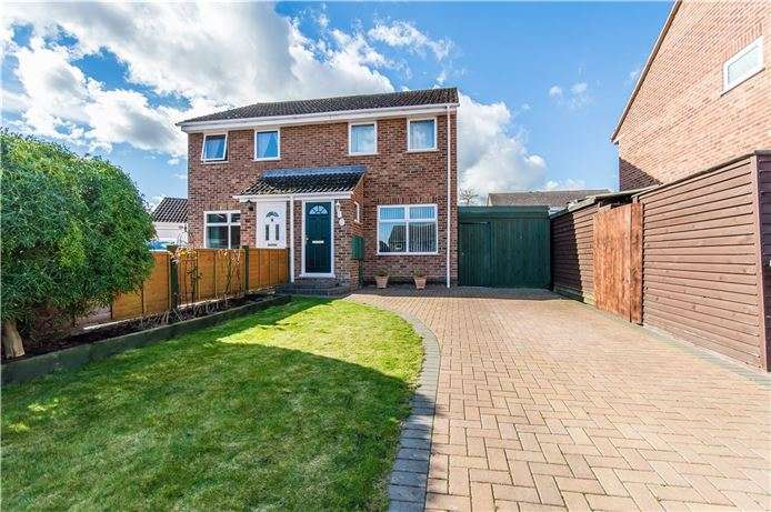 2 Bedrooms Semi Detached House for sale in Greengage Rise, Melbourn, Cambridge