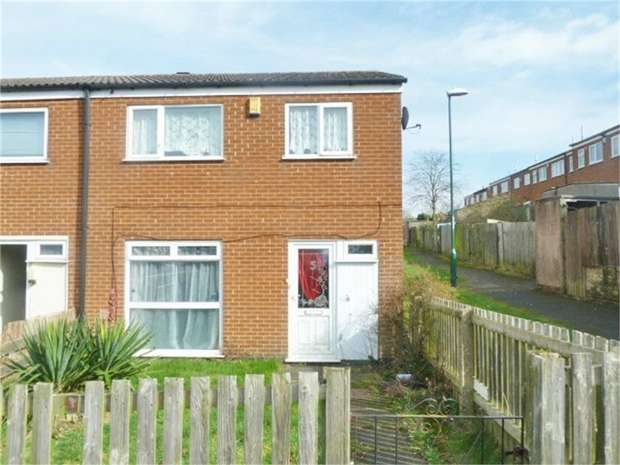 3 Bedrooms End Of Terrace House for sale in Ranskill Gardens, Nottingham