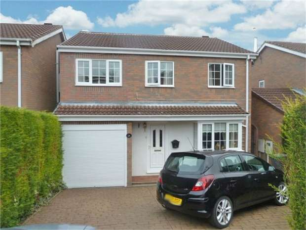 4 Bedrooms Detached House for sale in Nottingham Close, Wingerworth, Chesterfield, Derbyshire
