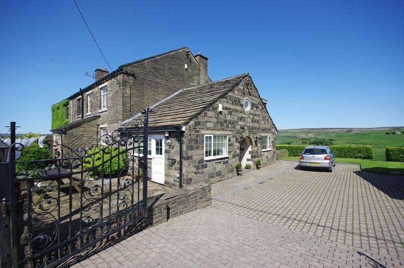4 Bedrooms Cottage House for sale in Breck Top Cottage, Stocks Lane, Mount Tabor, HX2 7TA