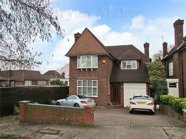4 Bedrooms Detached House for sale in Greenhill, WEMBLEY
