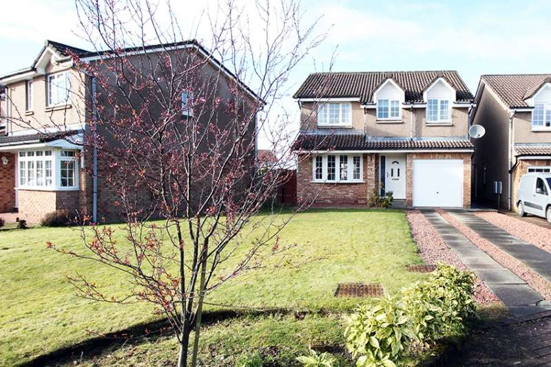 4 Bedrooms Detached House for sale in Myreton Drive, Bannockburn, Stirlingshire, FK7 8PU