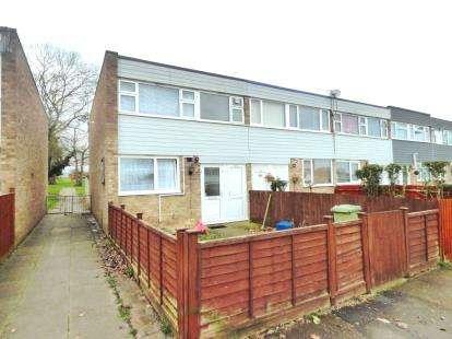 3 Bedrooms End Of Terrace House for sale in Santen Grove, Bletchley, Milton Keynes, Buckinghamshire