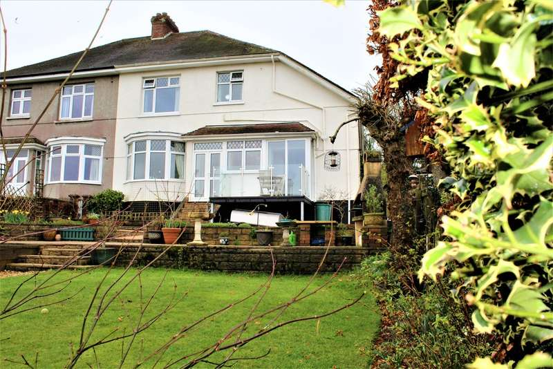 4 Bedrooms Semi Detached House for sale in Furzehatt Road, Plymstock, Plymouth, Devon
