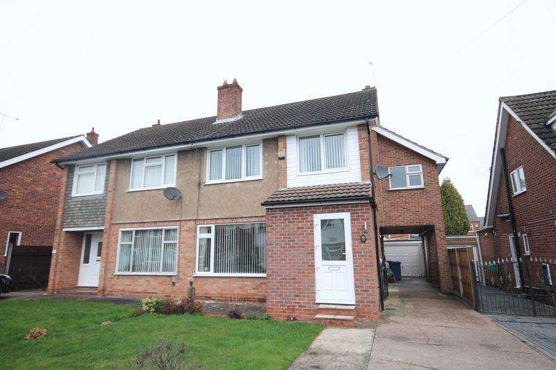 4 Bedrooms Semi Detached House for sale in SERINA AVENUE, DERBY
