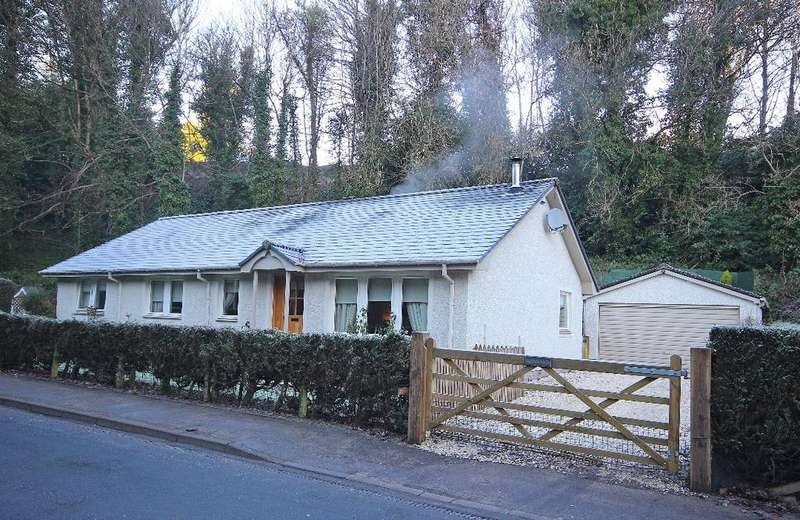 4 Bedrooms Detached Bungalow for sale in Birnam, Dunkeld , Perthshire , PH8 0BH