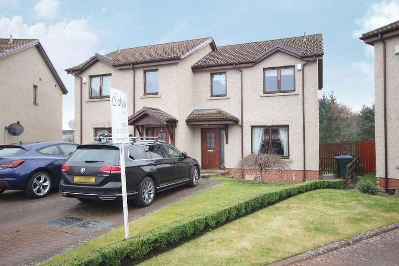 3 Bedrooms Semi Detached House for sale in Greig Place, Perth, Perthshire, PH1 2UJ