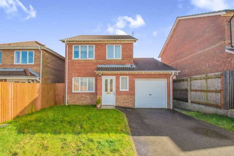 3 Bedrooms Detached House for sale in Meiros Close, Llanharan, Pontyclun