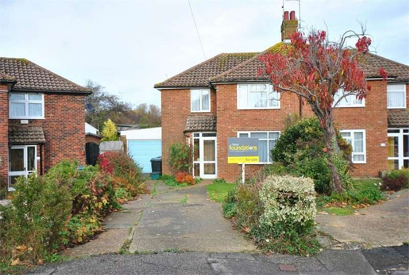 3 Bedrooms Semi Detached House for sale in Danecourt Close, Bexhill-on-Sea, East Sussex
