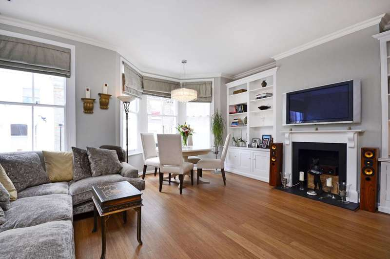 3 Bedrooms Flat for sale in Cotleigh Road, West Hampstead, NW6