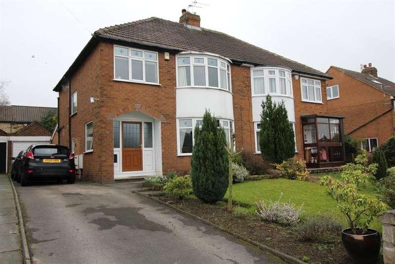 3 Bedrooms Semi Detached House for sale in Wynford Avenue, West Park, Leeds, LS16