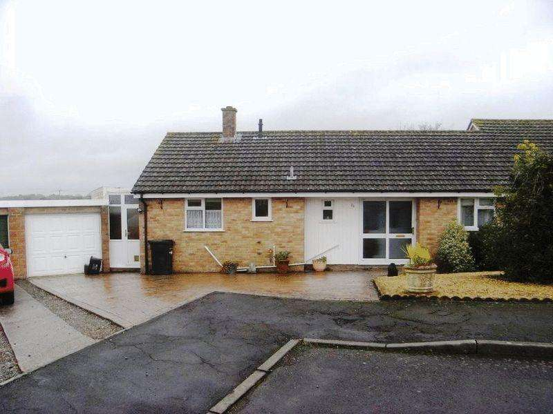 3 Bedrooms Semi Detached Bungalow for sale in Winyards View, Crewkerne
